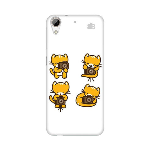 Photographer Kitty HTC Desire 626 Phone Cover
