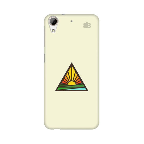 Triangular Sun HTC Desire 626 Phone Cover