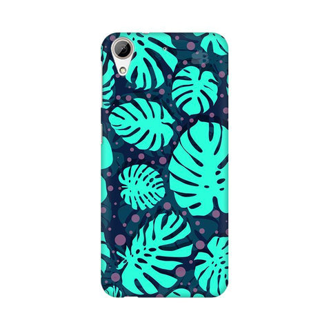 Tropical Leaves Pattern HTC Desire 626 Phone Cover