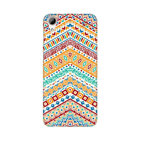 Wavy Ethnic Art HTC Desire 626 Phone Cover