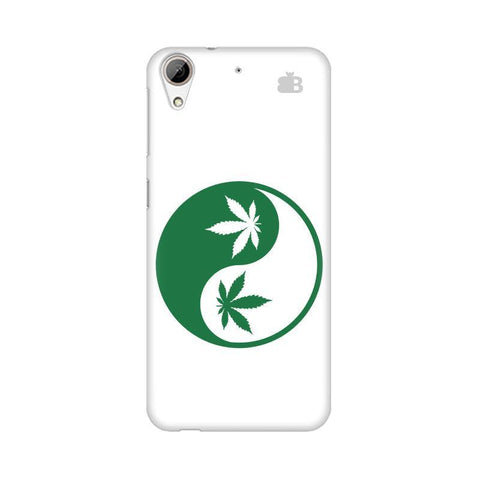 Weed Yin Yang HTC Desire 626 Phone Cover