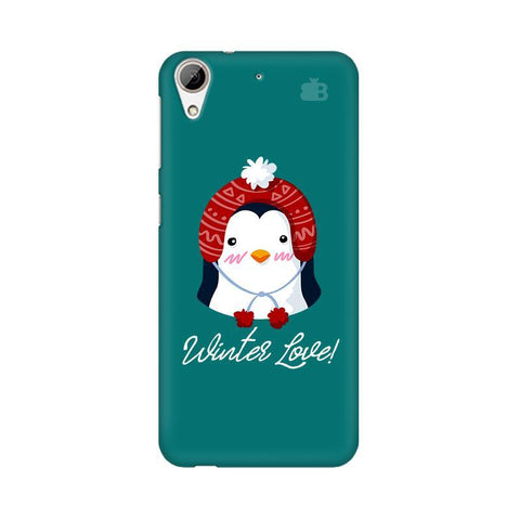 Winter Love HTC Desire 626 Phone Cover