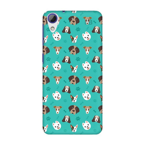 Doggie Pattern HTC Desire 628 Phone Cover