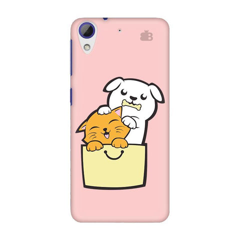 Kitty Puppy Buddies HTC Desire 628 Phone Cover