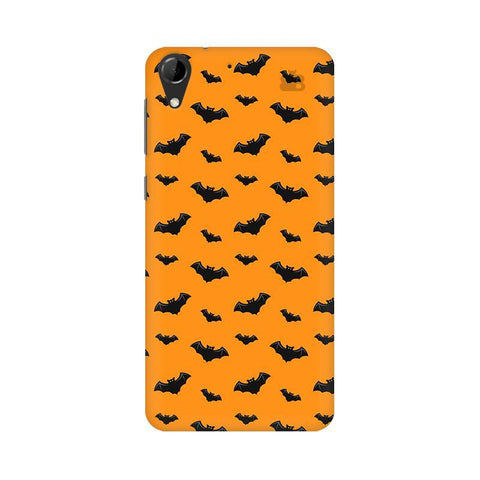 Bats Pattern HTC Desire 728 Phone Cover
