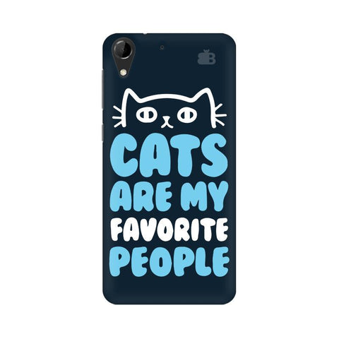 Cats favorite People HTC Desire 728 Phone Cover