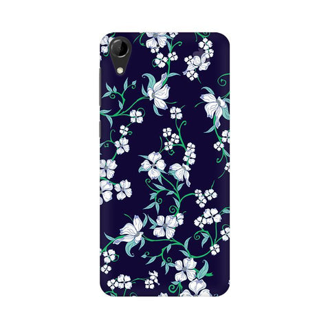 Dogwood Floral Pattern HTC Desire 728 Phone Cover
