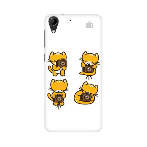 Photographer Kitty HTC Desire 728 Phone Cover