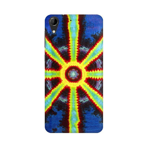 Tie & Die Pattern HTC Desire 728 Phone Cover