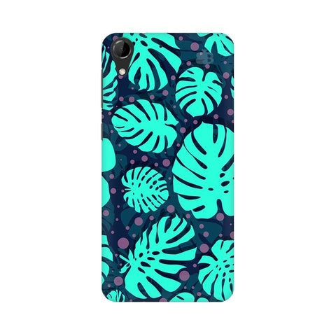 Tropical Leaves Pattern HTC Desire 728 Phone Cover