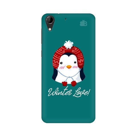 Winter Love HTC Desire 728 Phone Cover