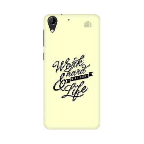 Work Hard HTC Desire 728 Phone Cover