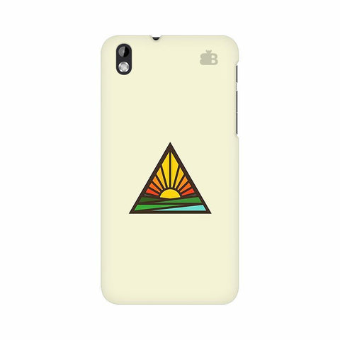 Triangular Sun HTC Desire 816 Phone Cover