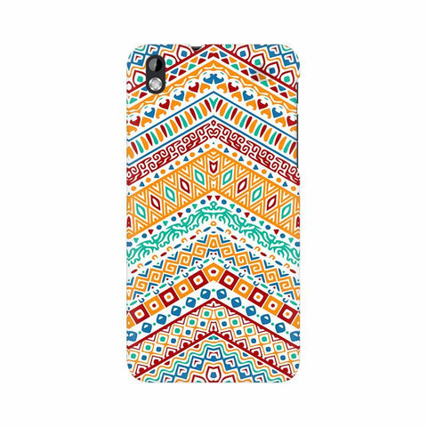 Wavy Ethnic Art HTC Desire 816 Phone Cover