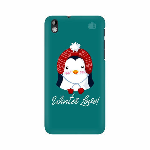 Winter Love HTC Desire 816 Phone Cover
