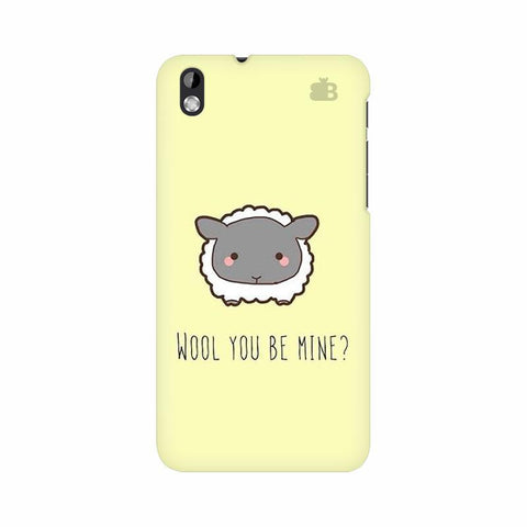 Wool HTC Desire 816 Phone Cover