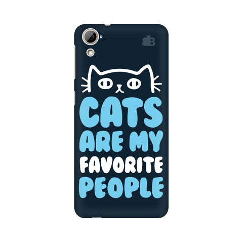 Cats favorite People HTC Desire 826 Phone Cover