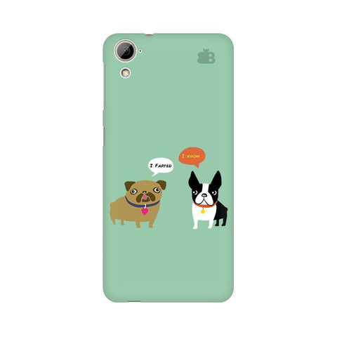 Cute Dog Buddies HTC Desire 826 Phone Cover