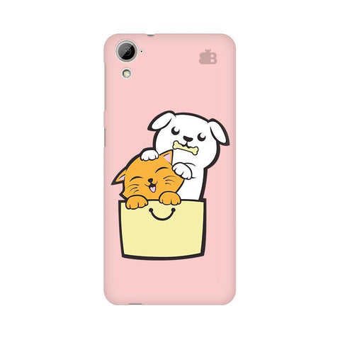 Kitty Puppy Buddies HTC Desire 826 Phone Cover