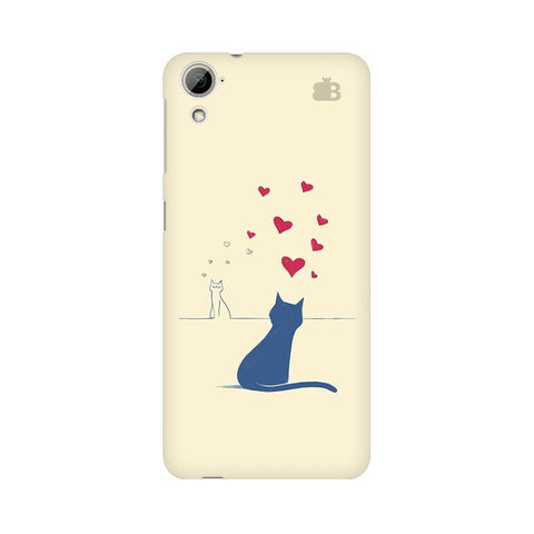 Kitty in Love HTC Desire 826 Phone Cover