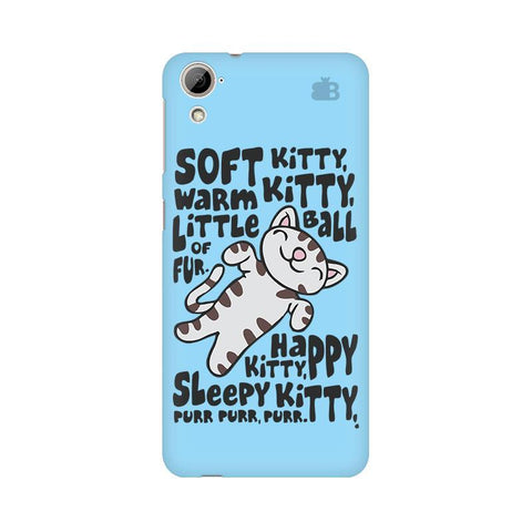 Soft Kitty HTC Desire 826 Phone Cover