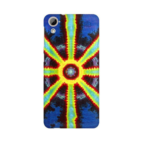 Tie & Die Pattern HTC Desire 826 Phone Cover