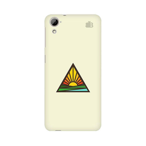 Triangular Sun HTC Desire 826 Phone Cover