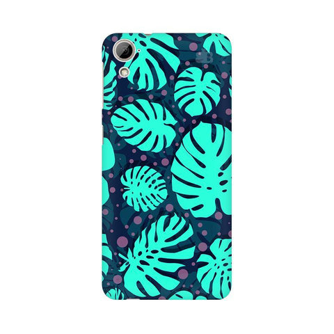 Tropical Leaves Pattern HTC Desire 826 Phone Cover