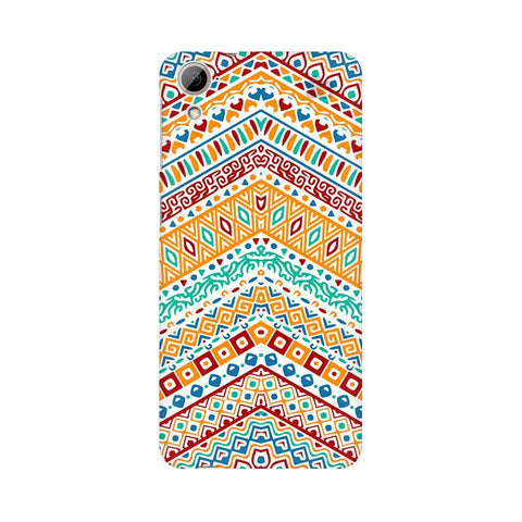 Wavy Ethnic Art HTC Desire 826 Phone Cover