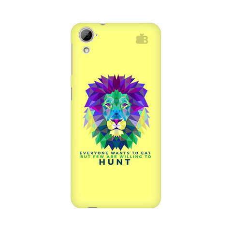 Willing to Hunt HTC Desire 826 Phone Cover