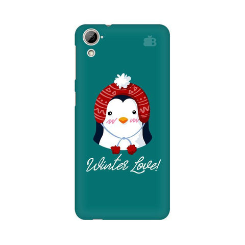 Winter Love HTC Desire 826 Phone Cover