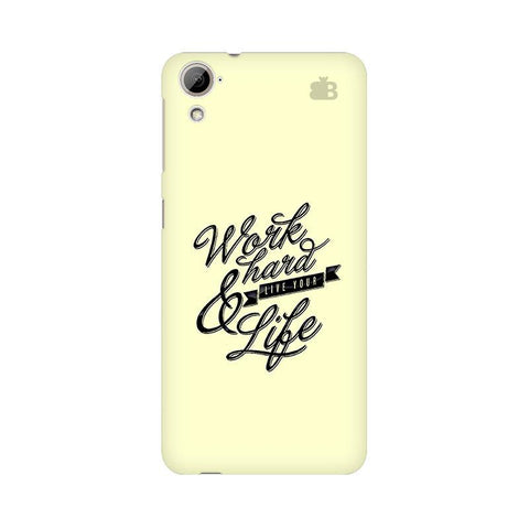 Work Hard HTC Desire 826 Phone Cover