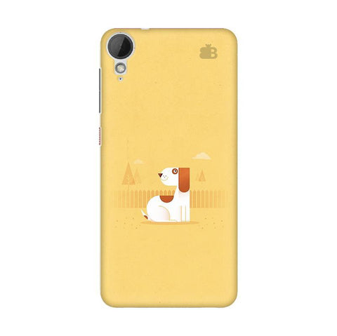 Calm Dog HTC Desire 828 Phone Cover