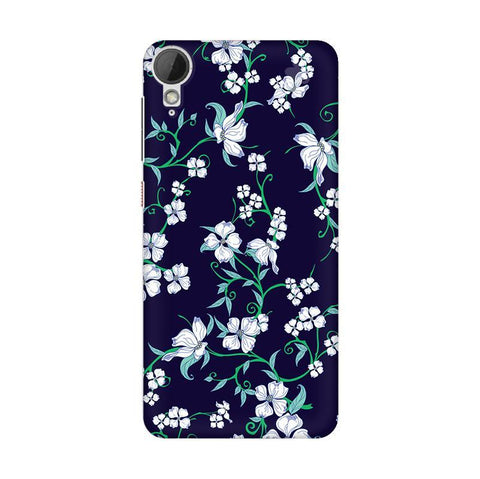 Dogwood Floral Pattern HTC Desire 828 Phone Cover