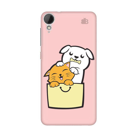 Kitty Puppy Buddies HTC Desire 828 Phone Cover