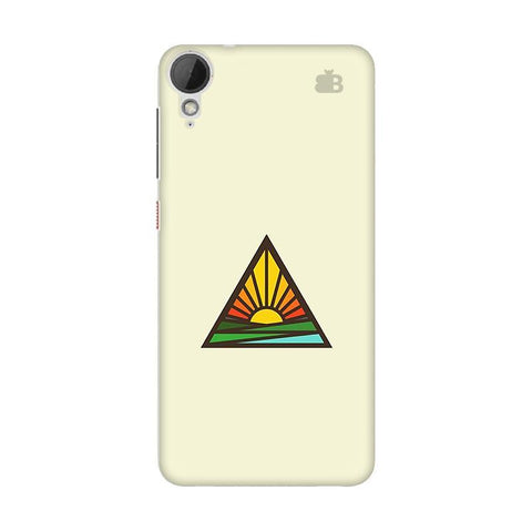 Triangular Sun HTC Desire 828 Phone Cover