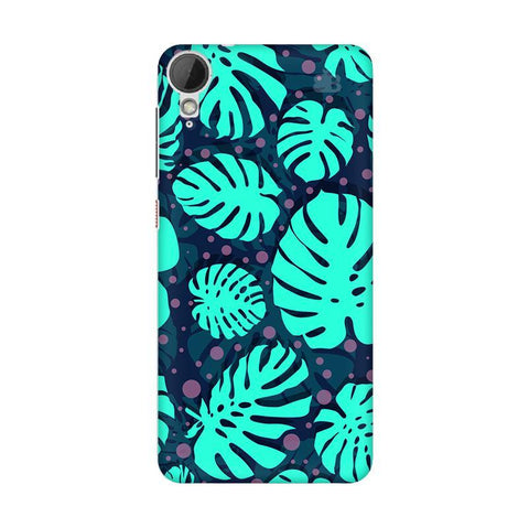 Tropical Leaves Pattern HTC Desire 828 Phone Cover