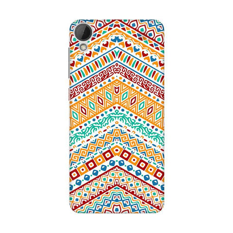 Wavy Ethnic Art HTC Desire 828 Phone Cover