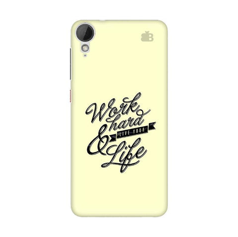 Work Hard HTC Desire 828 Phone Cover