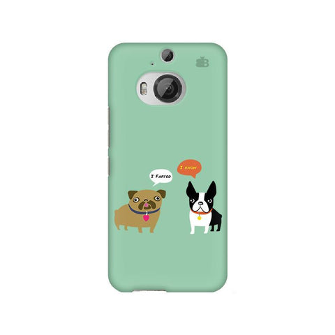 Cute Dog Buddies HTC M9 Plus Phone Cover