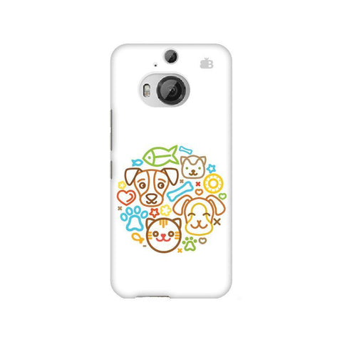 Cute Pets HTC M9 Plus Phone Cover