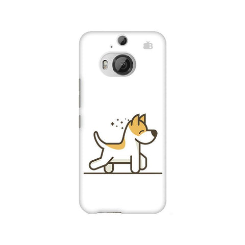 Happy Puppy HTC M9 Plus Phone Cover