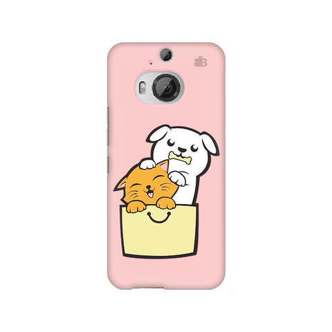 Kitty Puppy Buddies HTC M9 Plus Phone Cover