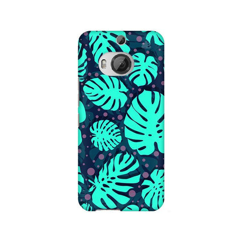 Tropical Leaves Pattern HTC M9 Plus Phone Cover