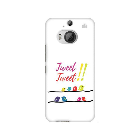 Tweet Tweet HTC M9 Plus Phone Cover