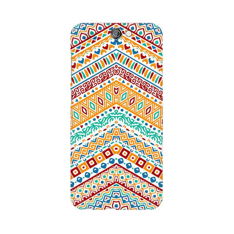 Wavy Ethnic Art HTC One A9 Phone Cover