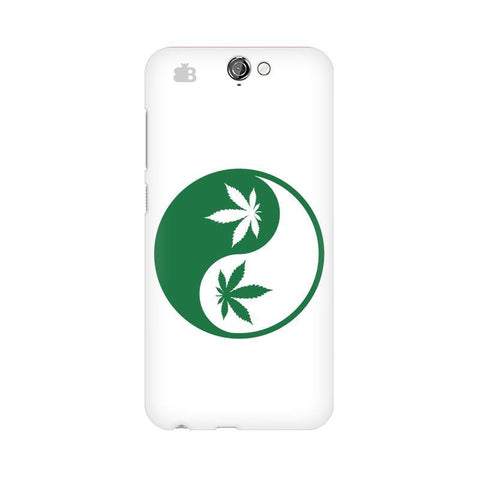 Weed Yin Yang HTC One A9 Phone Cover