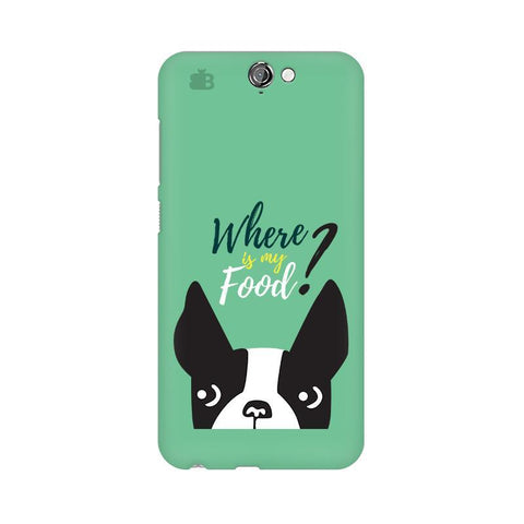 Where is my Food HTC One A9 Phone Cover