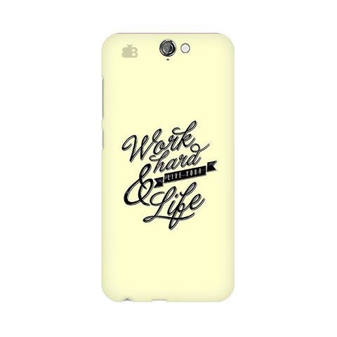 Work Hard HTC One A9 Phone Cover