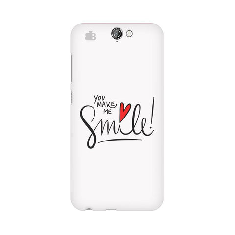You make me Smile HTC One A9 Phone Cover